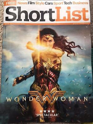 Shortlist Magazine June 2017 Wonder Woman Gal Gadot Photo Cover