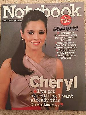 Girls Aloud CHERYL Photo Interview UK Notebook Magazine Dec 2016 Mariah Carey