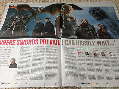 JAMES GRAHAM Sam West GAME OF THRONES OBSERVER NEW REVIEW MARCH 2015
