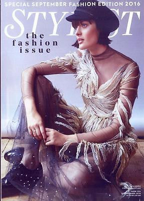 SAM ROLLINSON PHOTO COVER UK STYLIST MAGAZINE SEPT 2016 EVA GREEN Pat Cleveland