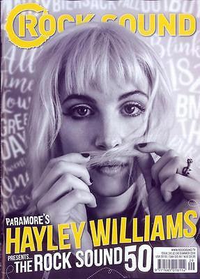 UK ROCK SOUND magazine - Summer 2016 Hayley Williams - Paramore cover