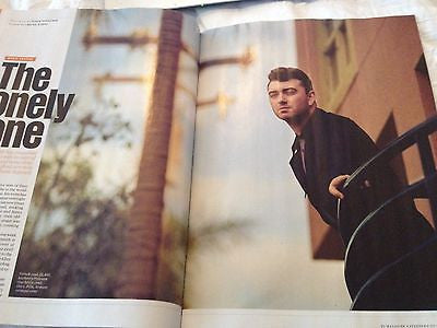 SAM SMITH PHOTO INTERVIEW ES Magazine 2015 MEGHAN TRAINOR JIMMY PAGE JESSIE WARE