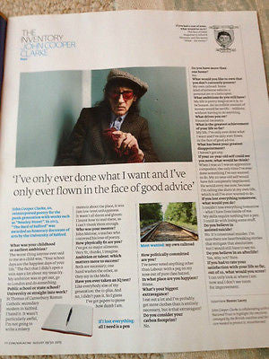FT WEEKEND Magazine August 2015 ANNIE LEIBOVITZ Cecil Beaton John Cooper Clarke