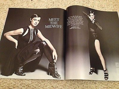 CALL THE MIDWIFE Jessica Raine PHOTO INTERVIEW TIMES MAGAZINE DECEMBER 2014