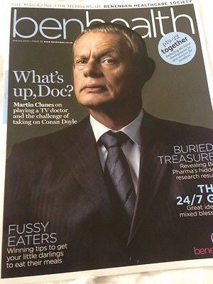 Doc Martin MARTIN CLUNES PHOTO COVER INTERVIEW BEN HEALTH MAGAZINE SPRING 2015
