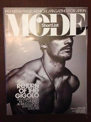 David Gandy Male Model Hunk Photo Cover Interview Uk Mode Magazine Issue 1