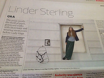 Observer New Review January 2014 Linder Sterling Sharon Jones Alan Alda The 1975