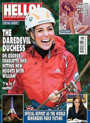 (UK) HELLO Magazine 11/2015 KATE MIDDLETON PHOTO COVER PRINCE GEORGE CHARLOTTE