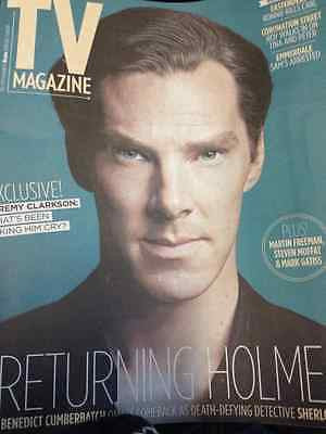BENEDICT CUMBERBATCH interview SHERLOCK HUNK UK 1 DAY ISSUE 2013