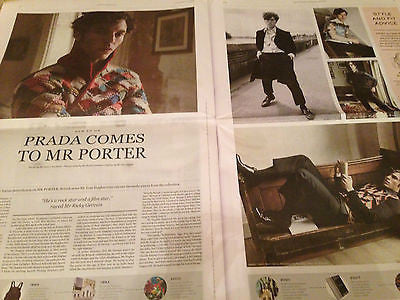 MILES TELLER Photo Cover Interview UK Mr Porter September 2016 TOM HUGHES