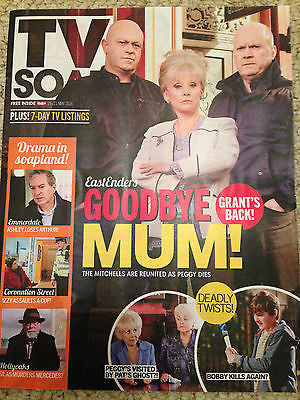 TV SOAP Magazine 15 May 2016 Ross Kemp Barbara Windsor Peggy Mitchell Dies