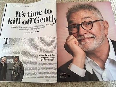Radio Times magazine May 20 2017 - Martin Shaw Sean Bean Ed Westwick Twin Peaks