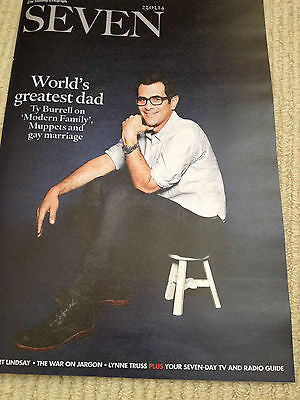 ROBERT LINDSAY PHOTO INTERVIEW MAGAZINE 2014 - TY BURRELL JACK O'CONNELL