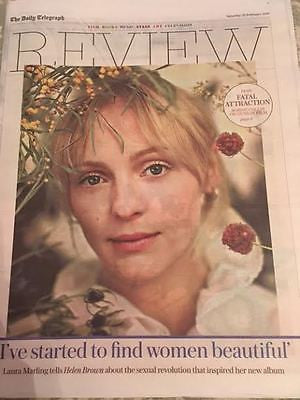 Telegraph Review February 2017 Laura Marling Imogen Poots Miranda Hart