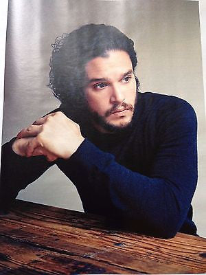 KIT HARINGTON - DANIEL BRUHL Sunday Times UK Magazine May 2016
