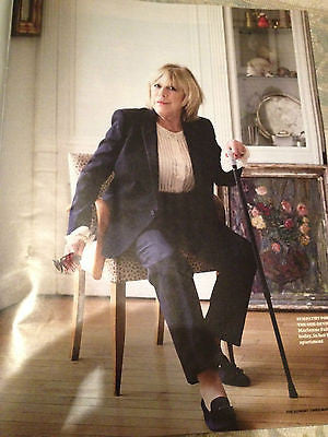 MARIANNE FAITHFULL on MICK JAGGER L'WREN SCOTT COVER SUNDAY TIMES MAGAZINE 2014