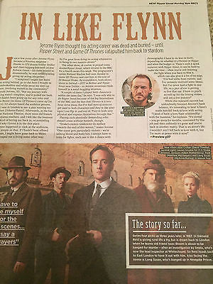 Ripper Street JEROME FLYNN PHOTO INTERVIEW UK MAGAZINE AUG 2016