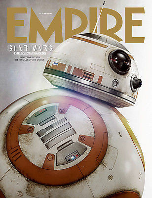 Empire Magazine October 2015 Star Wars Force Awakens - BB-8 Subscriber Cover