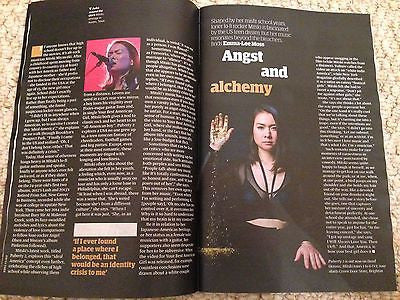 MITSKI Photo Interview - Kevin Spacey UK Guardian Guide magazine June 2016