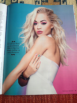 YOU MAGAZINE MARCH 2015 POPPY DELEVINGNE RITA ORA JACK FARTHING