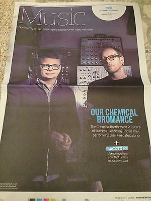 THE CHEMICAL BROTHERS PHOTO INTERVIEW JUNE 2015 MICHAEL FASSBENDER TAYLOR SWIFT