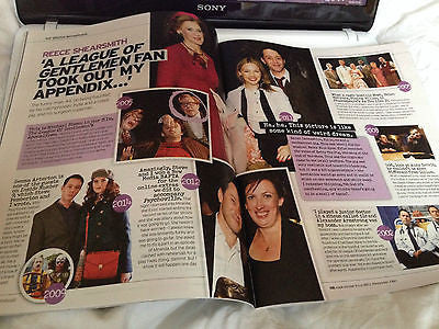 REECE SHEARSMITH interview SARAH LANCASHIRE MIRANDA HART UK 1 DAY ISSUE 2013