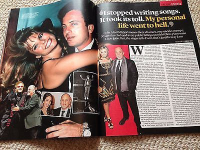 BILLY JOEL - THE PIANO MAN - RALPH FIENNES - SINITTA UK Event Magazine June 2016