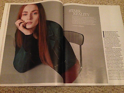 UK STELLA MAGAZINE - SOPHIE TURNER GAME OF THRONES - APRIL 12 2015