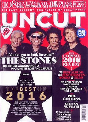 The Rolling Stones Exclusive January 2017 Photo Cover Uk UNCUT Magazine