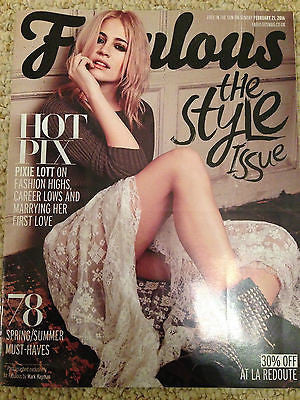 FABULOUS Magazine February 2016 PIXIE LOTT PHOTO COVER INTERVIEW