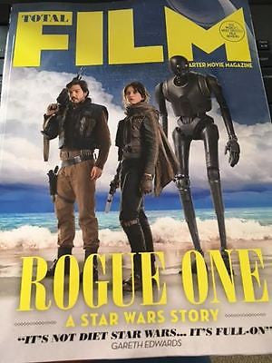 TOTAL FILM MAGAZINE JAN 2017 ROGUE ONE - A STAR WARS STORY UK COLLECTOR'S COVER