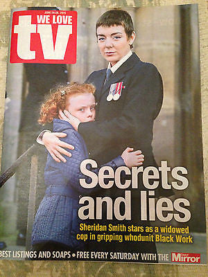 WE LOVE TV MAGAZINE JUNE 2015 SHERIDAN SMITH TAYLOR KITSCH  RACHEL MCADAMS