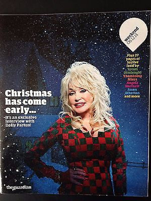 Dolly Parton Photo Cover Interview Guardian Weekend Magazine December 2014