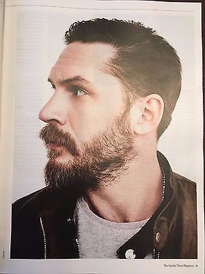 Sunday Times Magazine January 2017 Tom Hardy interview