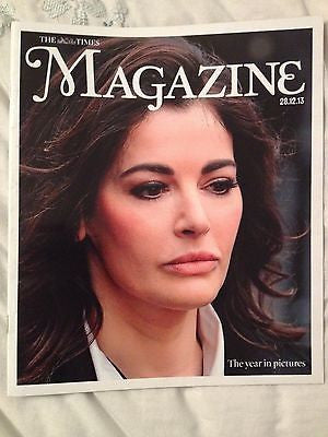 NIGELLA LAWSON uk cover 2013 ANDY MURRAY KATE MIDDLETON NELSON MANDELA PISTORIUS