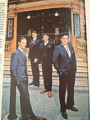 IL DIVO CARLOS MARIN PHOTO INTERVIEW UK MAGAZINE NOVEMBER 2013 DOCTOR WHO