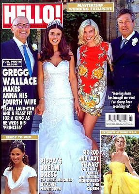 HELLO! magazine - 22 Aug 2016 GREGG WALLACE WEDDING PHOTO ALBUM KRISTEN STEWART