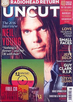UNCUT Magazine August 2016 - NEIL YOUNG - 2016 INTERVIEW + FREE CD & ART PRINTS