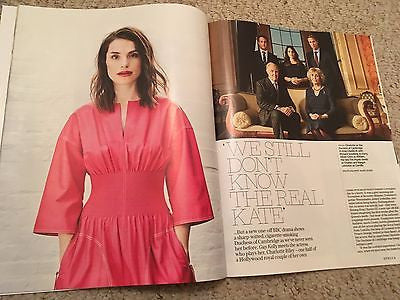 UK Stella Magazine May 2017 Charlotte Riley Cover on Kate Middleton & Tom Hardy