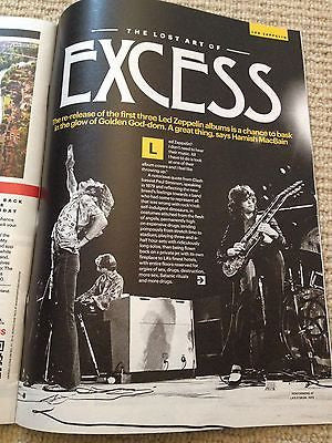 SHORTLIST MAGAZINE 2014 LED ZEPPELIN ROBERT PLANT JIMMY PAGE MICHAEL JAMIESON