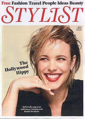 RACHEL McADAMS PHOTO COVER INTERVIEW STYLIST MAGAZINE JULY 2015 HAYLEY ATWELL