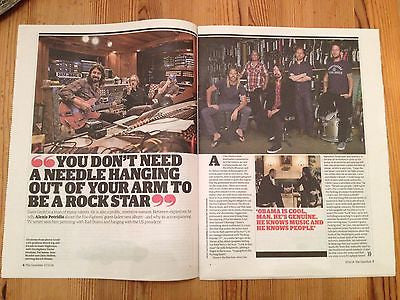 G2 SUPPLEMENT NOVEMBER 2014 DAVE GROHL THE FOO FIGHTERS PINK FLOYD