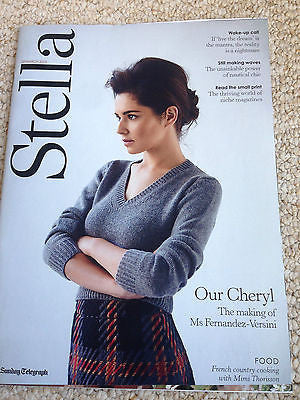 Girls Aloud CHERYL FERNANDEZ-VERSINI PHOTO COVER INTERVIEW STELLA MAGAZINE 2015