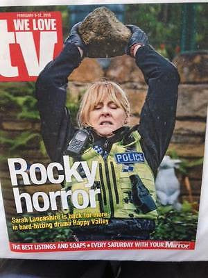 Happy Valley SARAH LANCASHIRE Photo Cover Interview Magazine 2016 David Duchovny