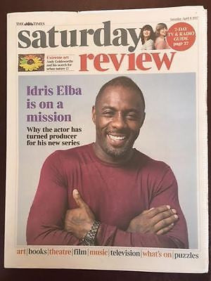 UK Times Review Supplement April 2017 Idris Elba Photo Interview Future Islands