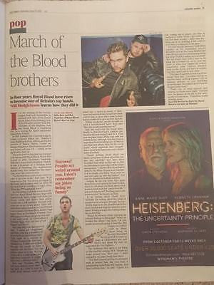 UK Times Review 17th June 2017 Diane Keaton Anita Pallenberg Royal Blood