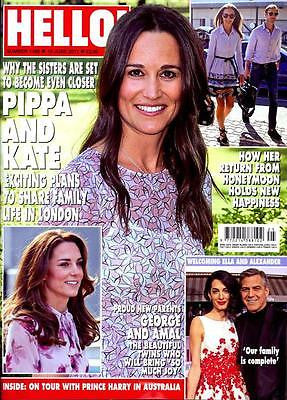 HELLO! magazine 19 June 2017 Pippa & Kate Middleton Rick Parfitt Sheena Easton