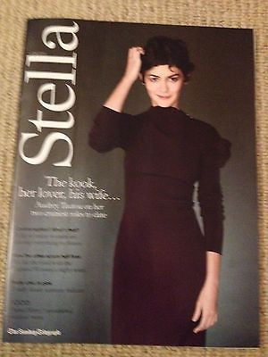Chinese Puzzle AUDREY TAUTOU Photo Cover interview STELLA MAGAZINE JUNE 2014
