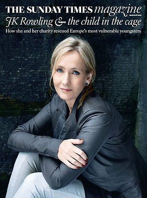 (UK) SUNDAY TIMES MAGAZINE MARCH 2016 JK ROWLING VANESSA REDGRAVE LAURENCE FOX