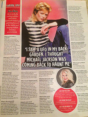 EVENT Magazine March 2016 KIM WILDE Photo Interview LAURENCE FOX ADELE